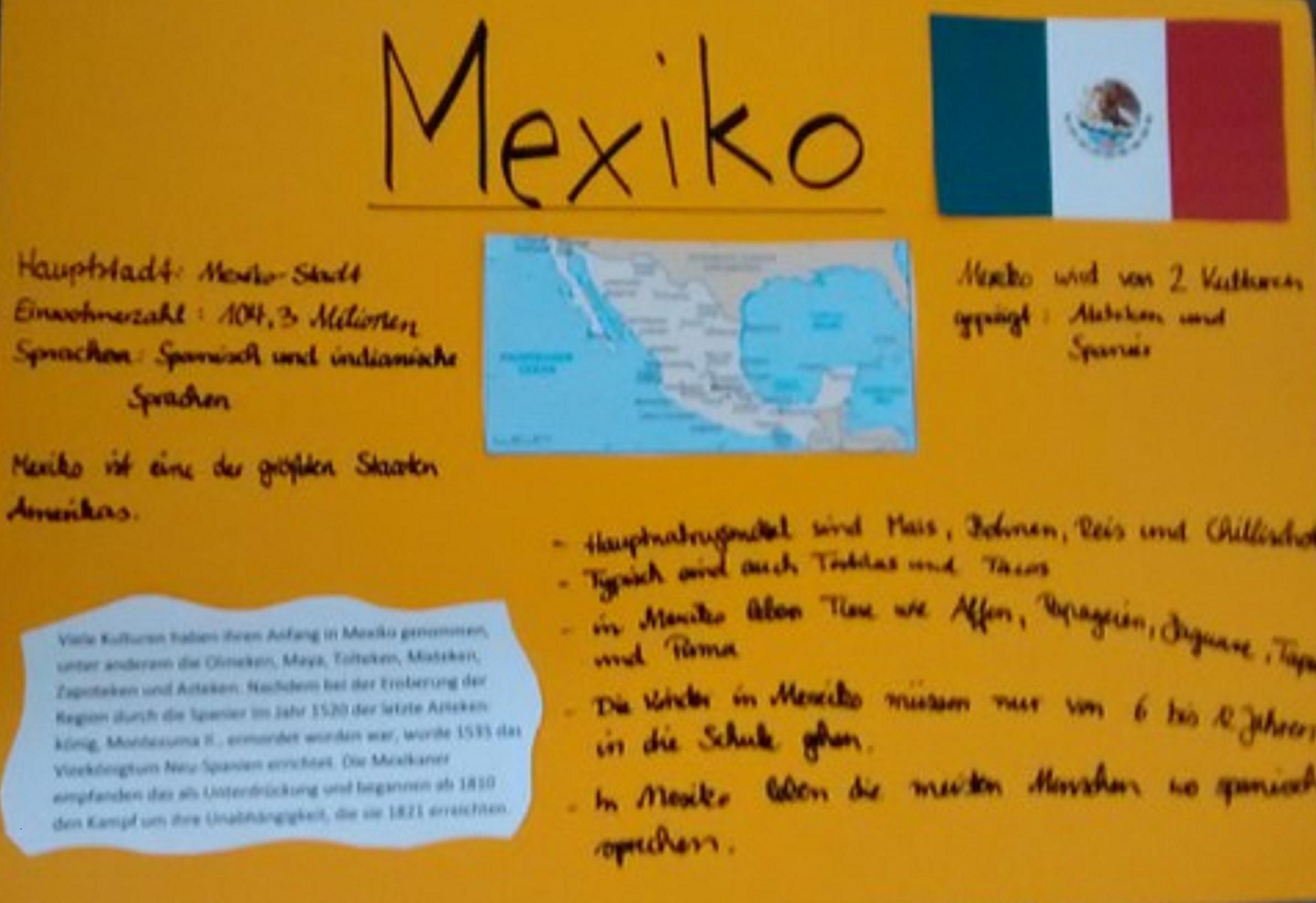 Plakat Mexiko